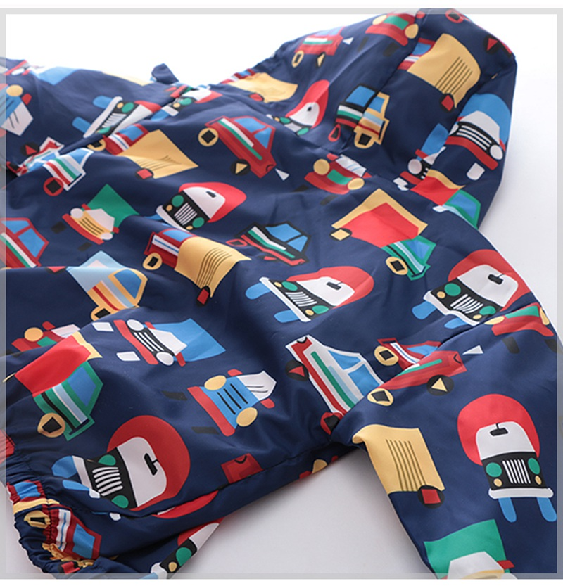 CROAL CHERIE  Fall Outerwear Coats Boys Kids Girls Jacket Cute Dinosaur Children Clothing Casual Baby Spring Jacket 80-130cm (13)
