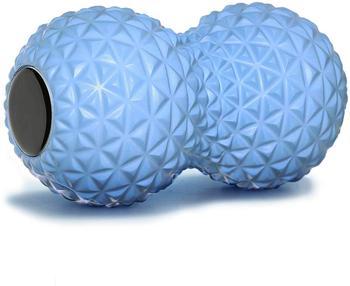 Per il Fitness Arachidi Sfera di Massaggio Doppio Rullo Lacrosse Palla in Profondità Del Tessuto Schiuma Massaggiatore per la Mano, piedi, Schiena, rilassamento muscolare 1