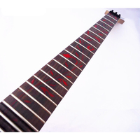 disado 24 Frets inlay Red tree of life Electric Guitar Neck rosewood fingerboard guitar strings lock Guitar accessories Parts