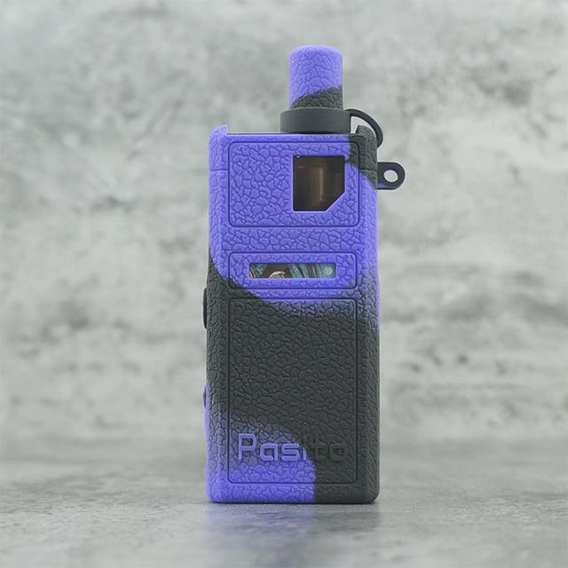 5 pièces Texture étui pour Smoant Pasito Pod Kit silicone peau caoutchouc manchon housse de protection ajustement Pasito kit