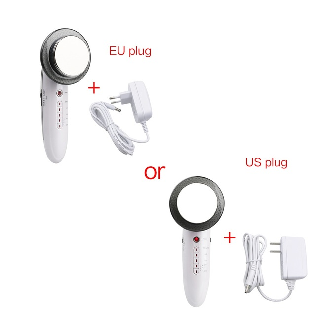 6 In 1 EMS Ultrasonic LED Cavitation Galvanic Ultrasound Body Slimming/Weight Lose Therapy Massager