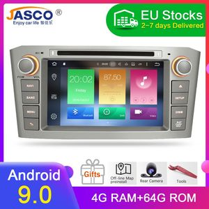 Best Selling Android 9.0 10.0 RAM 4G DVD Stereo Multimedia For Toyota Avensis/T25 2003-2008 Radio GPS Navigation Video(China)