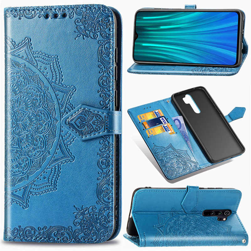 PU Leather Flip Cover For Coque Xiaomi Redmi Note 8 pro Case Smartphone Wallet Bag Funda Xiomi Redmi note 8 Cases Soft TPU Book