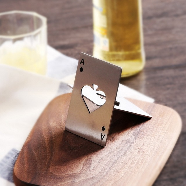 Poker Ace of Spades Beer Opener 4