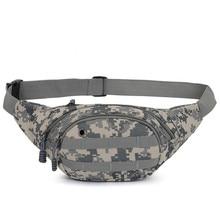 Waist Bag Unisex Adjustable Belt Custom Fanny Pack Canvas Camouflage  Caja Fuerte Secreta Oculta