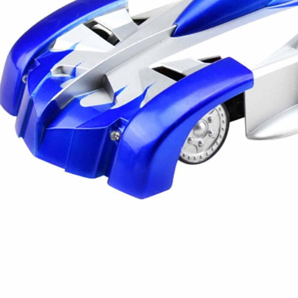 Nova parede escalada carros controle remoto rc carro de corrida anti gravidade teto rotativo dublê brinquedos elétricos para atacado