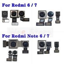 ด้านหน้าขนาดเล็ก & ขนาดใหญ่ด้านหลังกล้องFlex CableสำหรับXiaomi Redmiหมายเหตุ6 6A 7 7A Pro Plusกล้องFlex