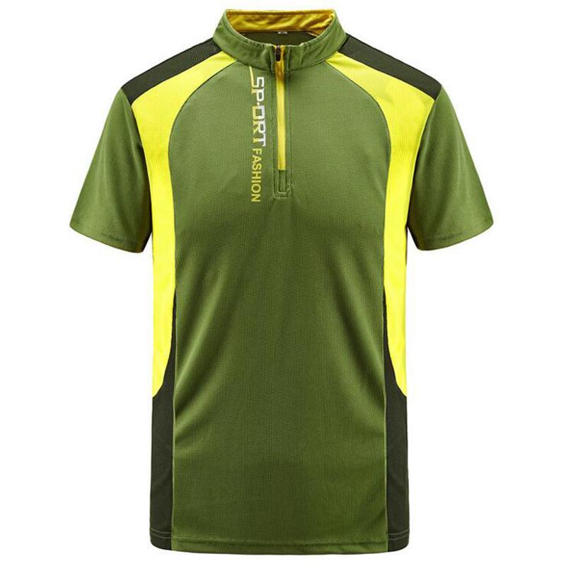 Più Il Formato 6XL 7XL 8XL Uomini T Camicette Estate Sport Corsa E Jogging Top Magliette Degli Uomini Patchwork All'aperto Quick Dry Maglietta abbigliamento Sportivo T Shirt - 4