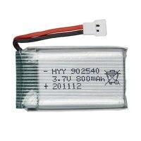 3,7 V 800 mAh Lipo Batterie Für Syma X5 X5C X5S X5SC X5HW X5HC X5SW M68 X300 X400 X500 X800 HJ819 3,7 V 800 mAh 902540 25C Batterie
