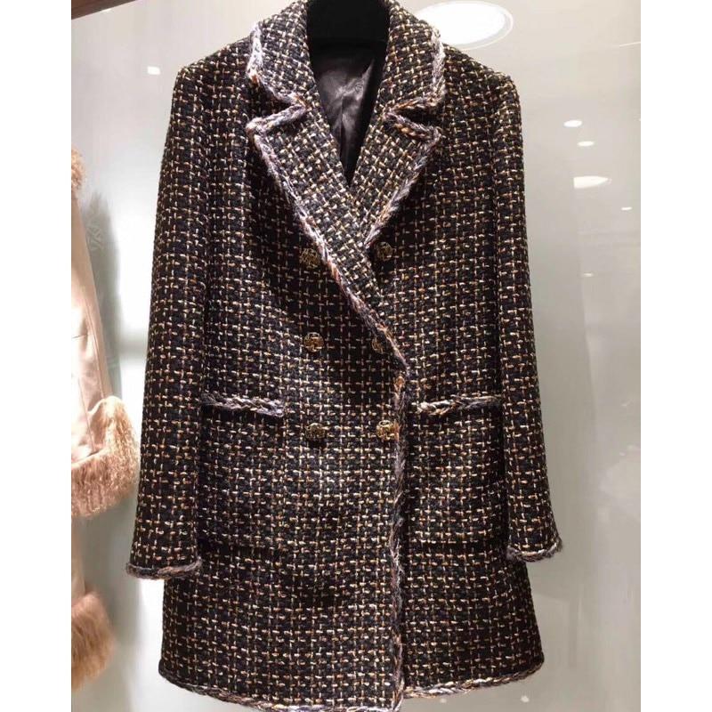 Fashion Coat Winter/Autumn Clothes Women's Blazer/Suit /Jackets Long Tweed Jackets/Blazer For Women Ladies Vadim Womens Clothing