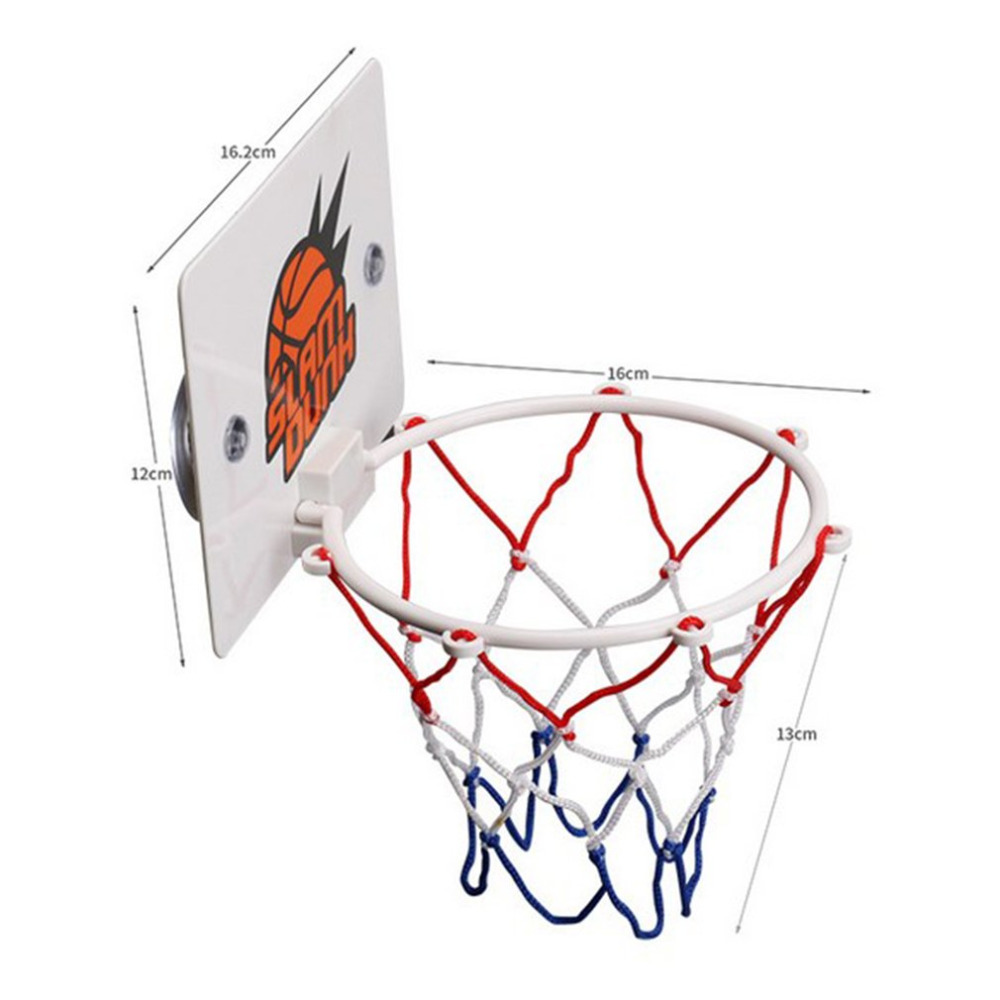 ReadyStock Portable Funny Mini Basketball Hoop Toys Kit Indoor Home Basketball Fans Sports Game Toy Set For Kids Children Adults