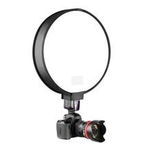 40cm 30cm Round Universal Portable Speedlight Softbox Flash Diffuser On-Top Soft Box for Camera Flash Light Diffuser Dropship