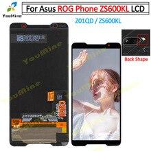 עבור ASUS ROG טלפון ZS600KL LCD תצוגת מסך מגע לוח Digitizer עבור Asus ZS600KL LCD עצרת תיקונים