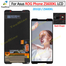 Para ASUS ROG Phone ZS600KL pantalla LCD y Panel táctil digitalizador para Asus ZS600KL LCD Reparación de montaje
