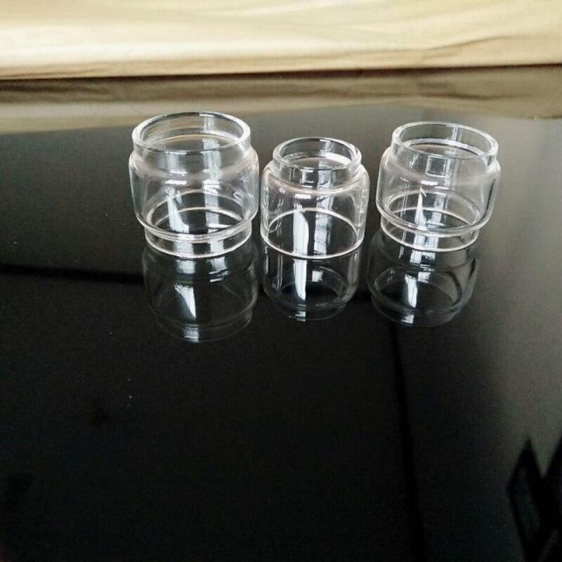 10pcs Extended Bulb Glass for Zeus X RTA Sub Ohm Dual Ammit Blitzen Aero Mesh Tank Aegis Kit Fat Boy Bubble Glass Tube 3