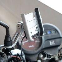 Moto espelho/guiador suporte do telefone suporte 360 girar suporte para telefones universais lhb99