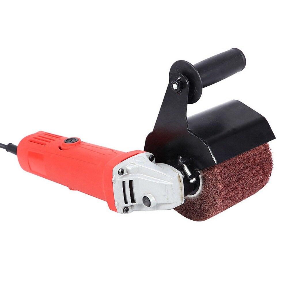 Wielofunkcyjna elektryczna szlifierka kątowa szlifierka do polerowania akcesoria do mocowania metalowa stalowa szlifierka do drewna M10/M14