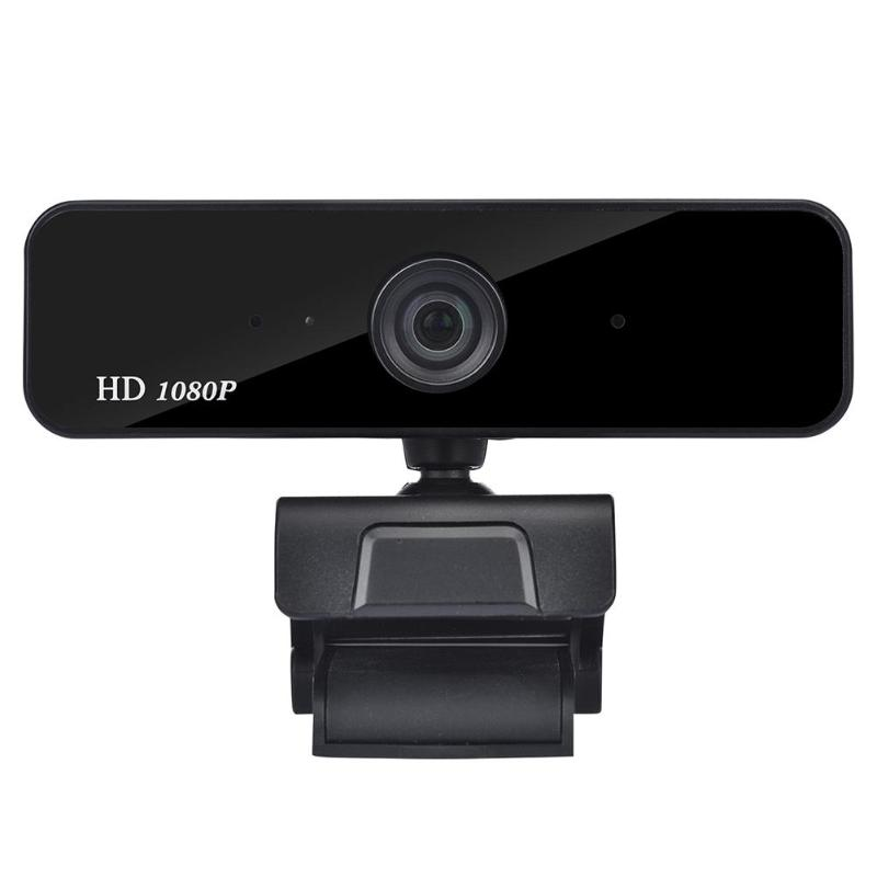 A20 360 Degree HD <font><b>1080P</b></font> Webcam Auto Focus CMOS Sensor Microphone Widescreen USB Port Camera <font><b>Web</b></font> <font><b>Cam</b></font> for Mac OS Windows Computer image