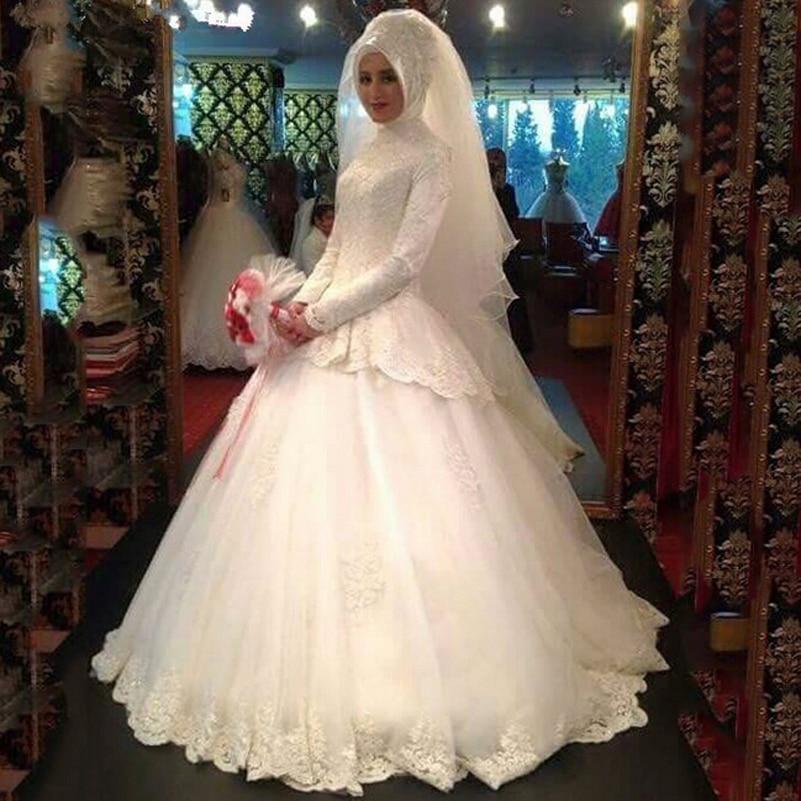 Graceful Long Sleeve Muslim Turkey Robes De Mariees Musulman Peplum Gown Robe Oriental Arabe Dubai Mother Of The Bride Dresses