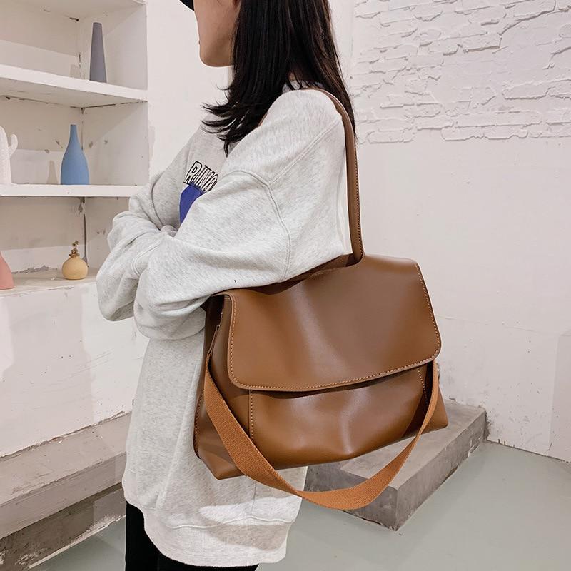 Torba Damska Bolsos De Mujer Torebka Damska Bolso Bandolera Mujer Torebki Damskie Duze Bolso De Mujer New Simple Texture Bag