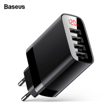 Baseus USB Charger For iPhone 11 Pro Max 30W Quick Charge For Xiaomi Red mi Huawei Mate 30 Pro Fast Charge 4 Ports USB Charging(China)