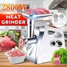 Sonifer – broyeur à viande électrique 220V, boîtier en acier inoxydable, broyeur à domicile, viande hachée, remplisseur de saucisses, robot alimentaire