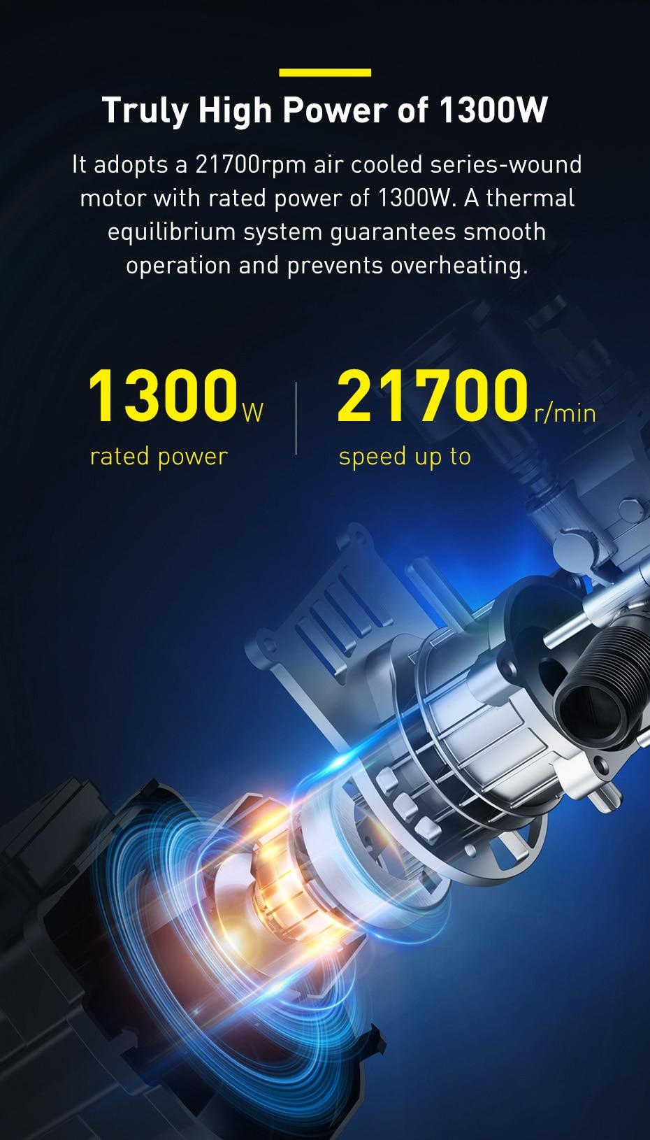 Lavacoches Xiaomi Baseus, lo más potente para una limpieza profunda