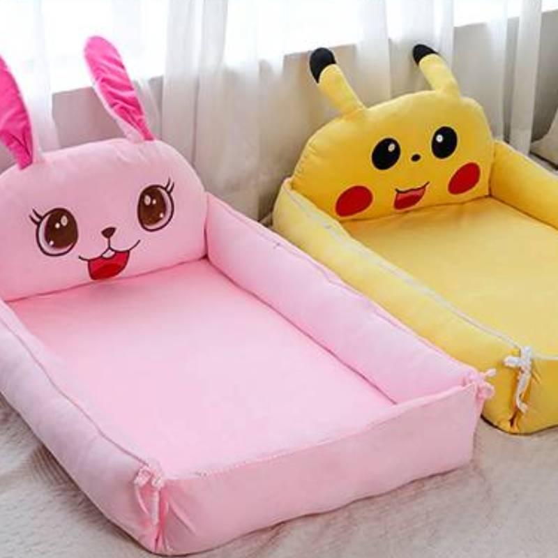 детская кроватка Children's Furniture Portable Literas Infantil Crib In Bed Baby Bionic Extra Large Folding Anti-pressure Beds