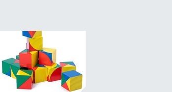חדש לילדים מעץ צעצועים חינוכיים pixy קוביות בלוקים מרחב חשיבה אינטליגנציה לילדים תינוק 19