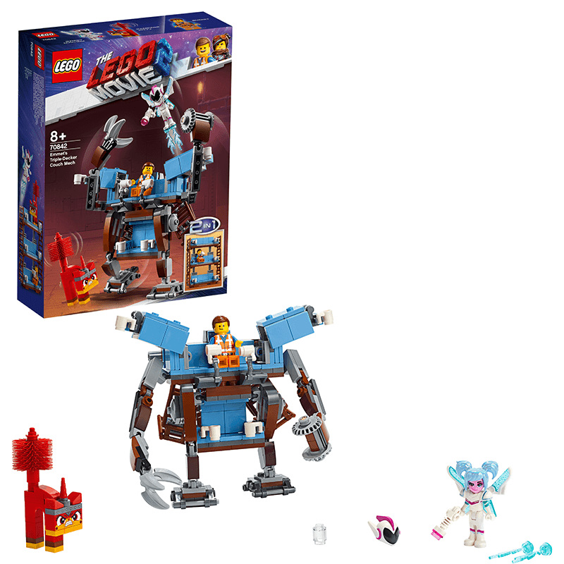2019 LEGO May New Products Movie Series 70842 Emmit's Three Layer Sofa Mech Toy Building Blocks