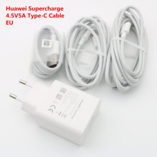 Original HUAWEI Supercharge Super Charging Wall Charger Fast Charge Adapter For Mate 20 9 10 pro P20 Pro P30 Honor 10 20 V20
