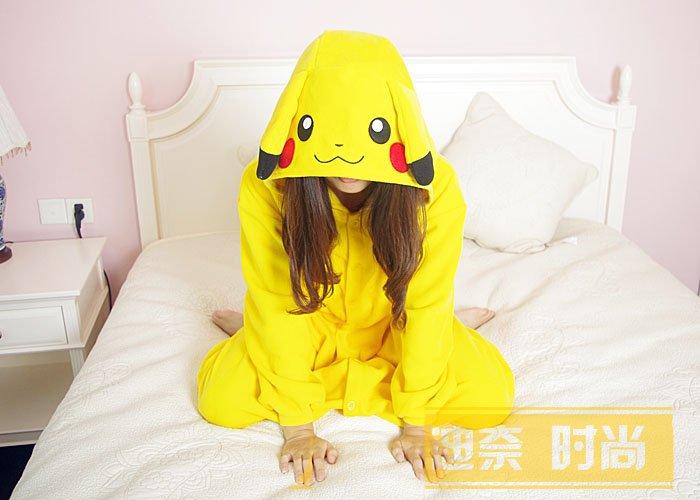 Adult Fleece Pajamas Evil Dragon Bull Pikachu Orangutan Crab Onesie Cosplay Costume Pajamas