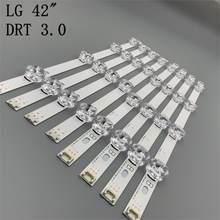 825mm led-hintergrundbeleuchtung streifen 8 lampe para lg 42 zoll tv innotek drt 3,0 42