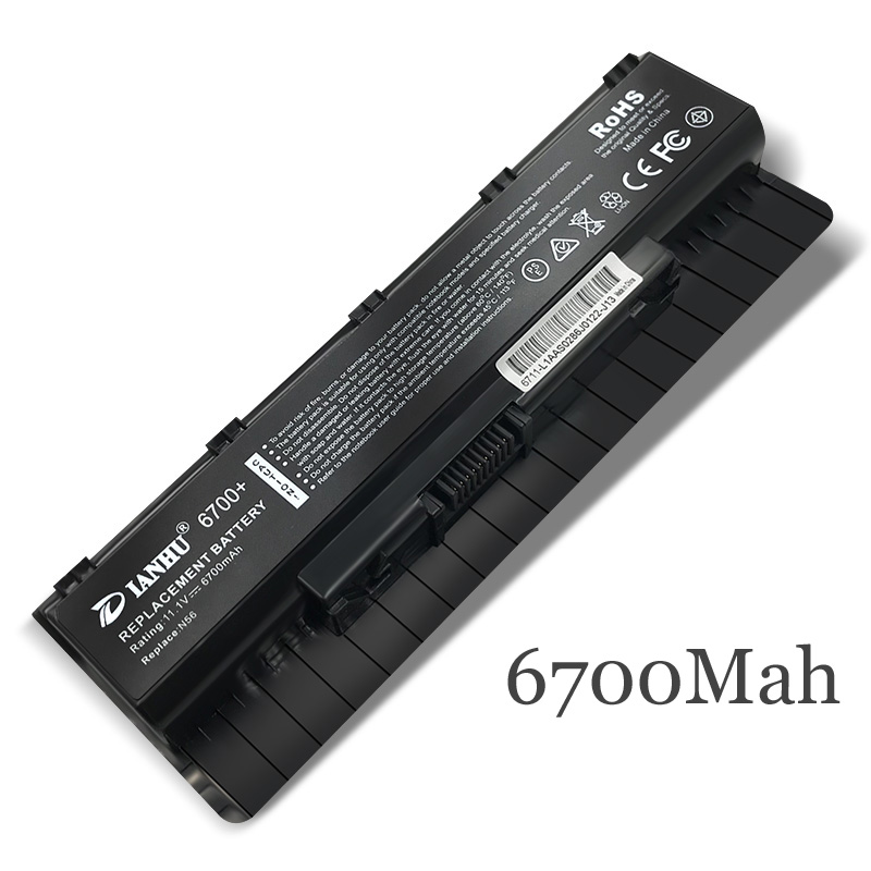New Replacement Laptop <font><b>Battery</b></font> Internal For <font><b>Asus</b></font> A32-N56 N56D <font><b>N46V</b></font> N56V N56VM N56VZ N56VJ N76VM A31-N56 A33-N56 N76 image