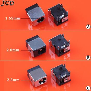 JCD 1PCS DC Power Jack Connector Socket 1.65mm 2.0mm 2.5mm for HP/Asus/Acer/Lenovo Laptop Charging Port image