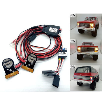 SY-RC OneLine-TRX4 V2.0 LED Light Set for Traxxas TRX-4 Chevrolet K5 Blazer Body Parts Accessories