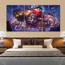 Игровая фигурка «Лига Легенд» рисунок на холсте с Энни hd картина