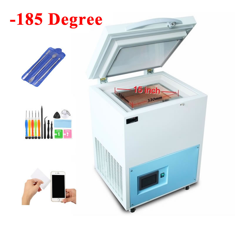 -185 Degree Frozen Separating Machine With Touch Screen Control 6