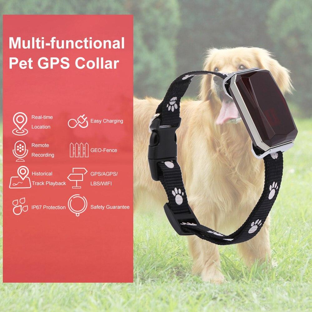 Новое поступление IP67 Водонепроницаемый ошейник для домашних любимцев, GSM, GPS Wi-Fi фунтов мини-светильник GPS трекер для домашних животных собак...