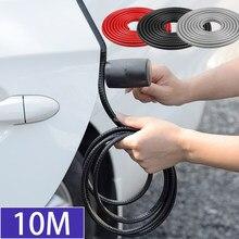 10m Auto Tür Anti Scratch Protector Streifen Auto Abdichtung Schutz Trim Automobil Tür Rand Aufkleber Dekorative Schutz Dichtung Streifen