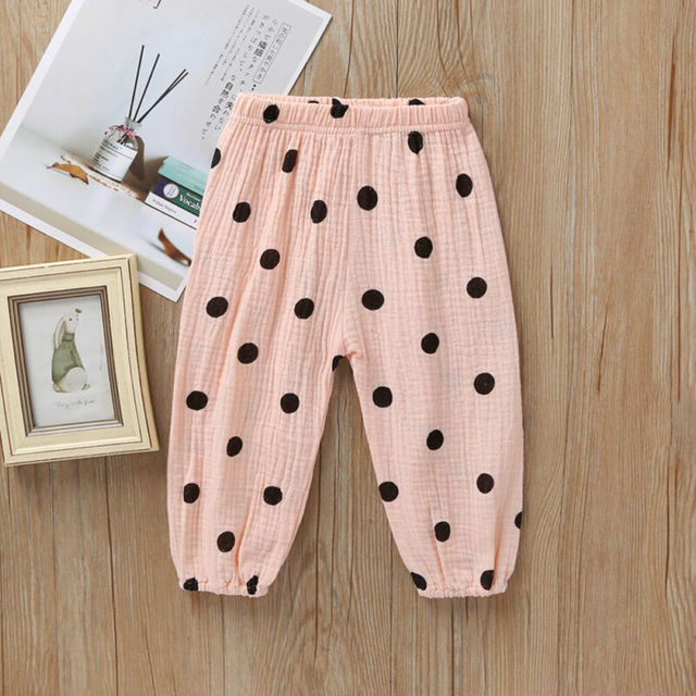 Kids Toddler Baby Boy Girl Long Pants Trousers Leggings Sweatpants Harem Bottoms