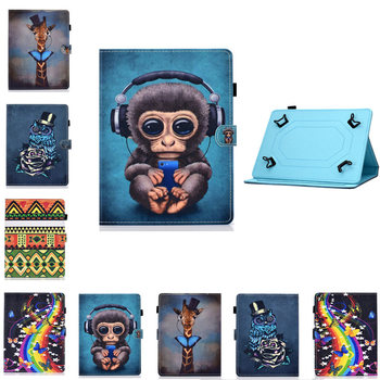 8.0'' Universal Sleeve Case For Sony Xperia Z3 Compact SGP611 SGP621 612 for LG G Pad 8.0 V480 V490 8'' Tablet PU Leather Cover image