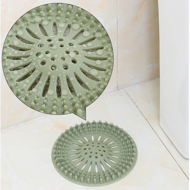 High Quality Sink Sewer Filter Floor Drain Strainer Water Hair Stopper Bath Catcher Shower Cover Kitchen Bathroom Anti Clogging 3