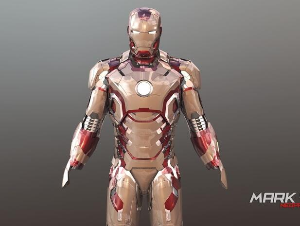 Iron Man Suit Custom Order Highqualityhighprecision Digital Models 3D Printing Service Funny Toys ST6065