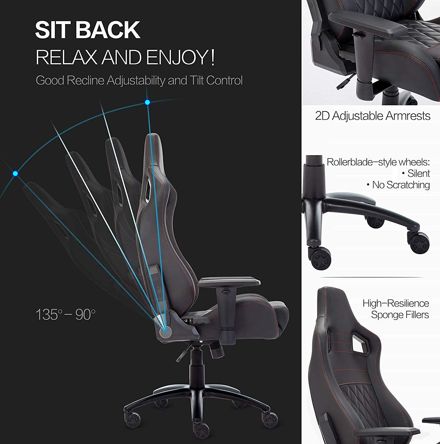 Купить с кэшбэком Office Computer Chair Ergonomic Racing Gaming Chair LOL Sports High Back WCG Play Gaming Executive Chair