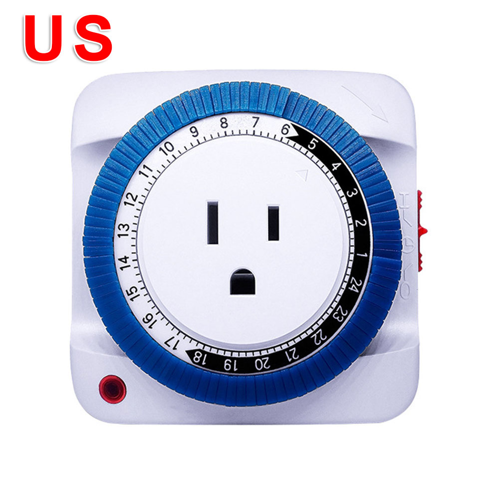 1pc Rechargeable Timer Switch Measurement And Analysis Instruments Electrical Automation OFF/ON Programmable Socket