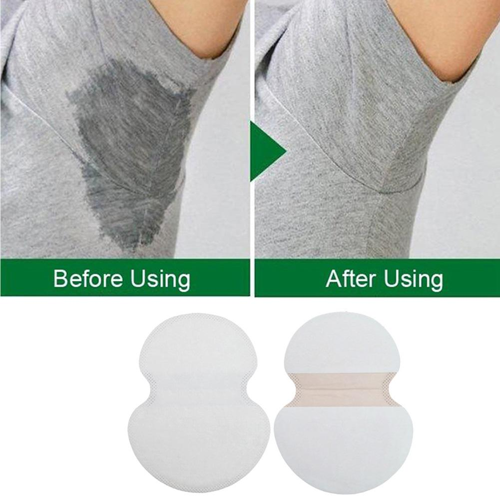 25pcs Armpit Sweat Pads Disposable Stop Sweat Shield Guard Sweat Absorbing Pads  OPP Bags Packaging And Transportation
