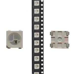 Image 2 - 100~1000pcs WS2812B LED Chip;5050 RGB SMD;WS2812;Individually Addressable Digital;DC5V;Black/White version