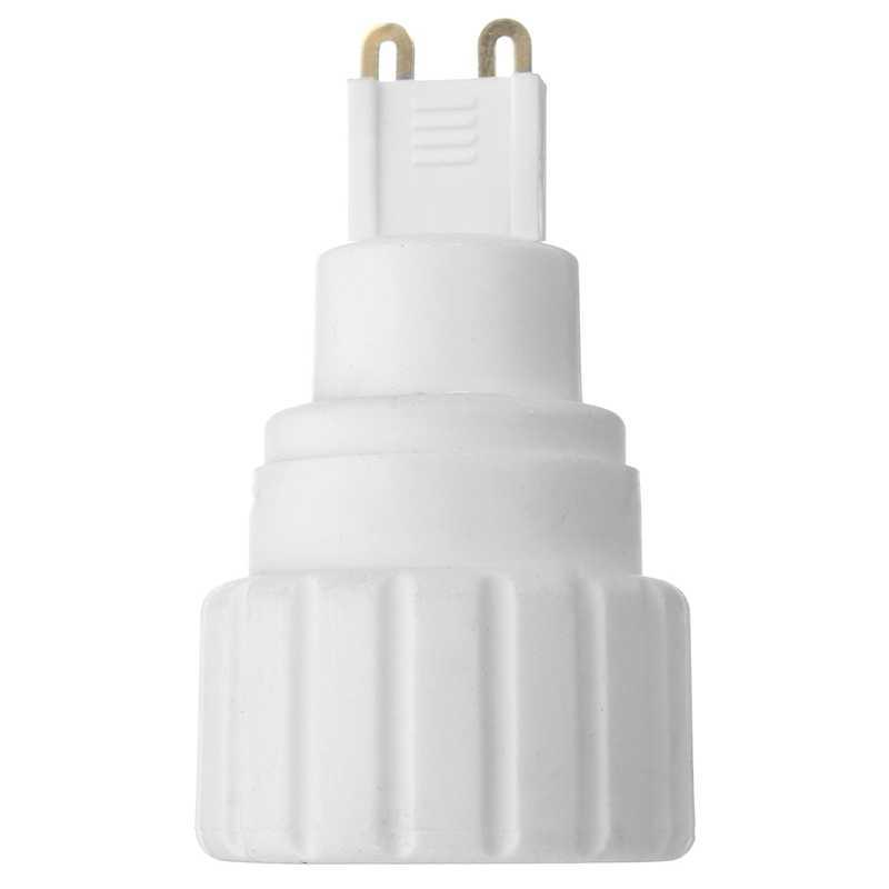 G9 כדי GU10 מנורת בעל מתאם בסיס אור הנורה מנורת מתאם בעל שקע ממיר מנורת בסיסי בורג LED 220V 5A PBT חומר