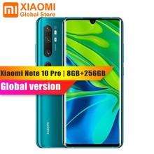 Глобальная версия Xiaomi Mi Note 10 Pro 8 Гб 256 ГБ мобильный телефон NFC Snapdragon 730G 108MP Cam 5260 мАч 30 Вт Быстрая зарядка смартфон